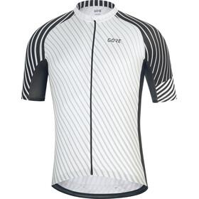 GORE WEAR C3 Koszulka kolarska, krótki rękaw Mężczyźni biały/czarny